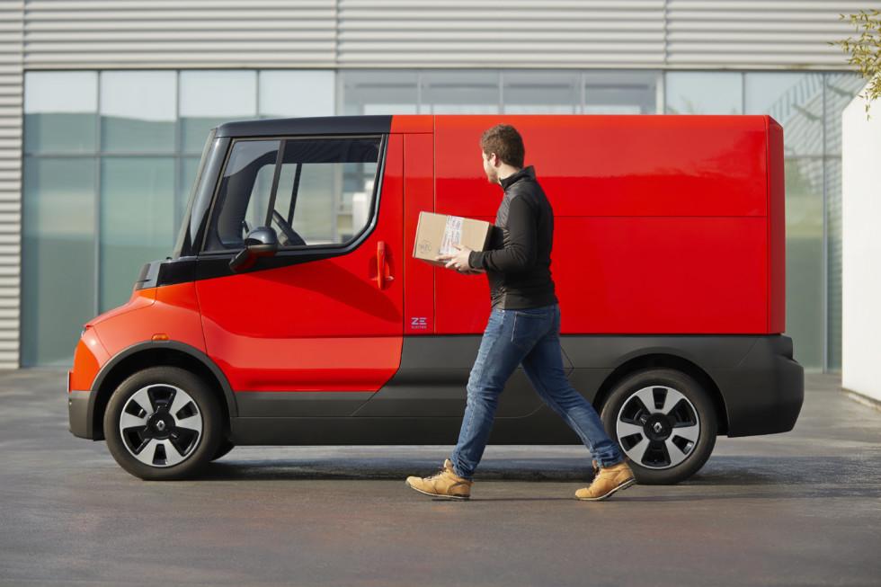 Новый городской фургон Renault EZ-FLEX – неужели и Lada Van будет такой?