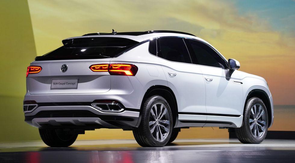 Volkswagen Teramont и аналог Tiguan превратили в «купе», плюс грядут два новых больших SUV