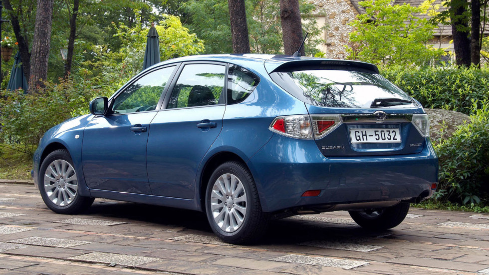 Subaru Impreza (GE/GH) '2007–11
