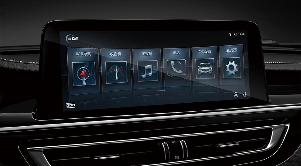 Кроссовер Changan CS75 в старом кузове получил салон от рестайлинговой модели