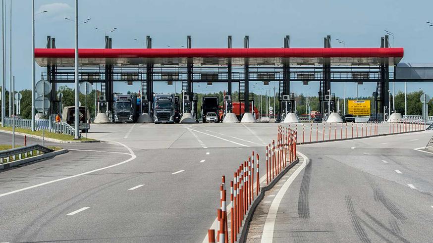 Платную трассу от Москвы до Санкт-Петербурга откроют до конца сентября