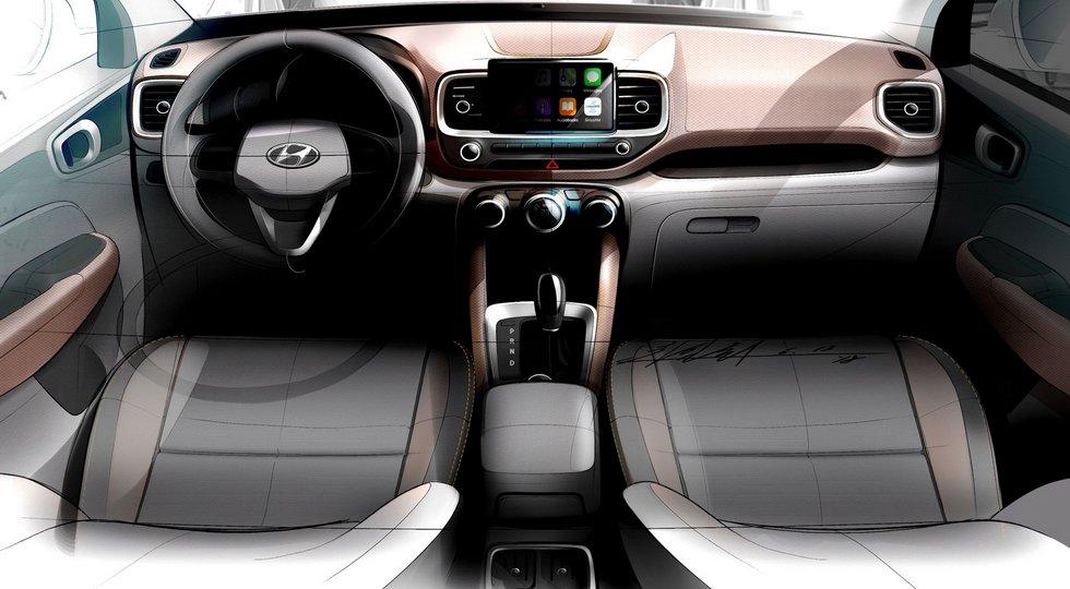 Самый дешёвый кроссовер Hyundai: внешность под Santa Fe и попытка «оживить»  скучный салон