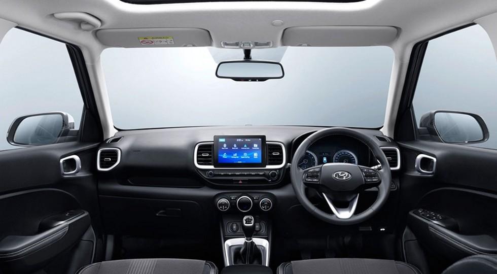 Кроссовер Hyundai Venue: меньше и дешевле Creta, но без полного привода