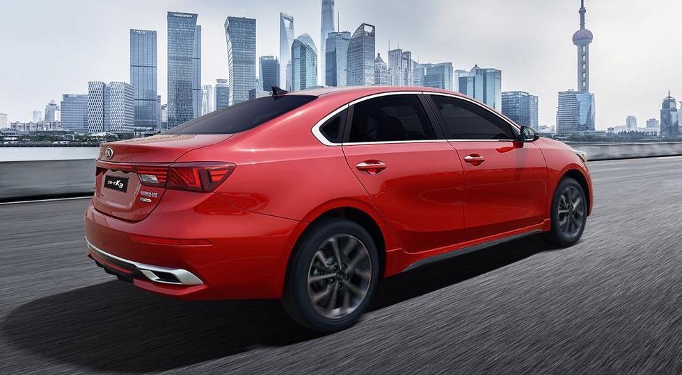 Новый Kia K3 для Китая