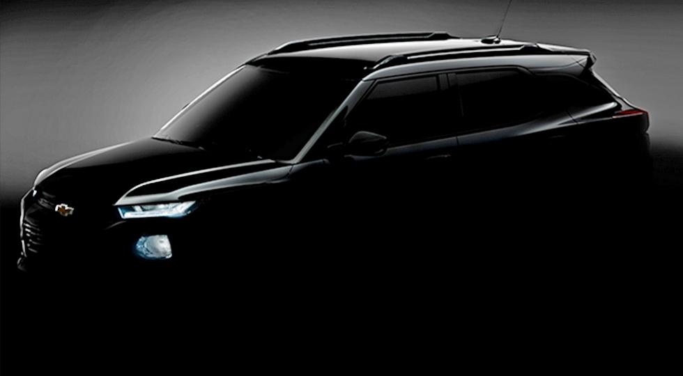 Новый Chevrolet Trailblazer для Китая. Пока неизвестно, появится ли модель в других странах
