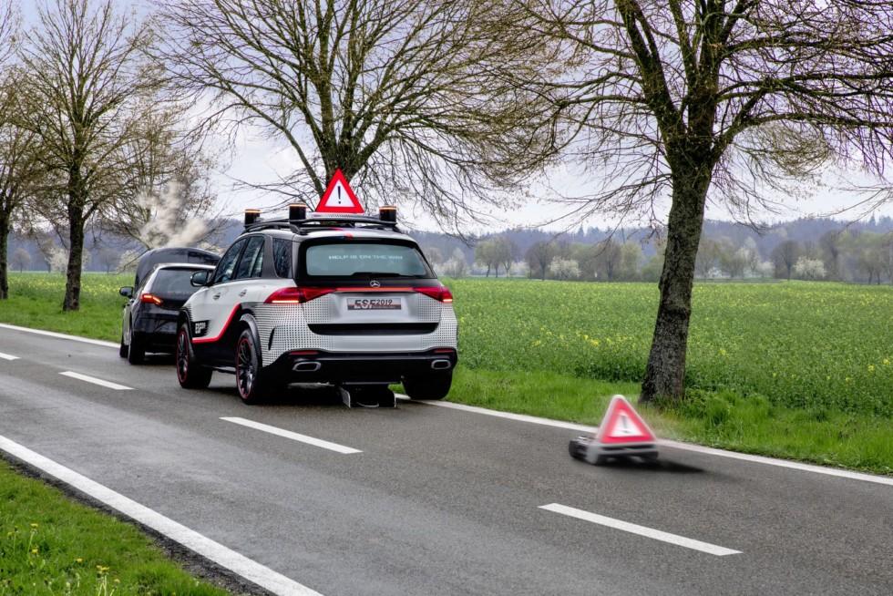 Безопасный автомобиль завтрашнего дня: Daimler показал, каким он будет