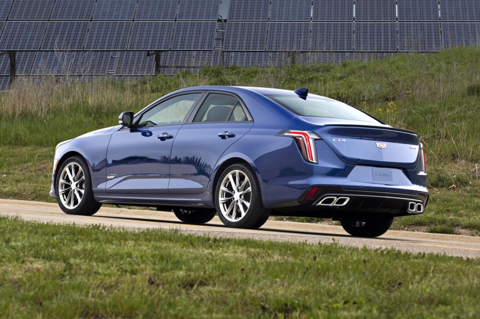 Немощь и красота: Cadillac CT4 пришел на смену ATS