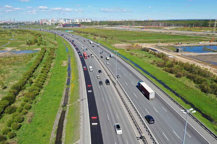 В Санкт-Петербург и обратно: стартовал ремонт КАД