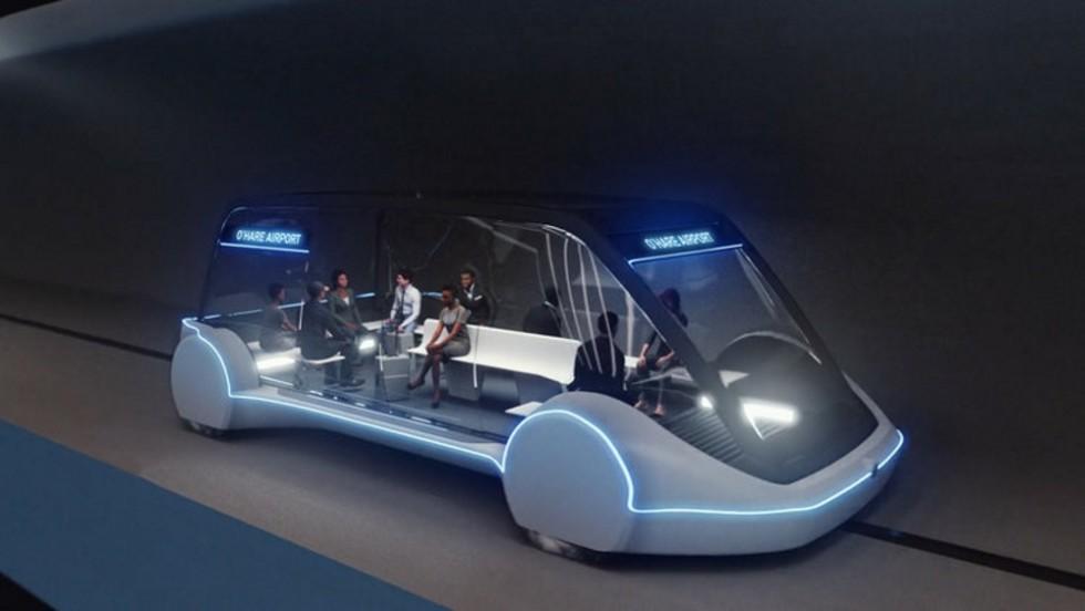 Илон Маск продемонстрировал преимущества автомобильной подземки