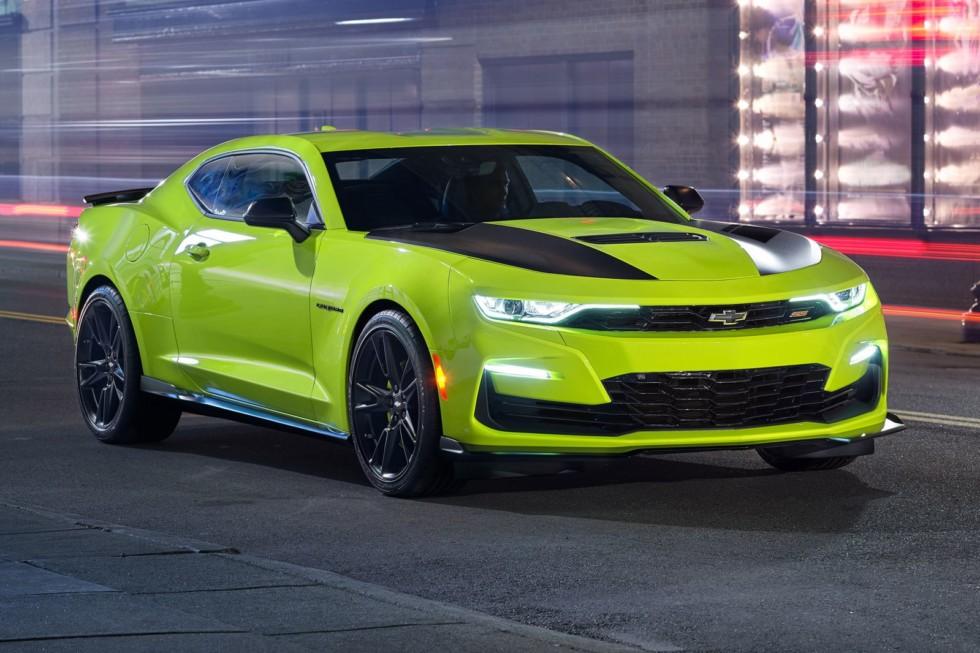 Обновлённый Chevrolet Camaro: V8 «для бедных» и 10-ступенчатый «автомат»