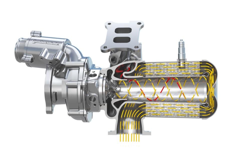 Евронормы заставили: Continental объединил турбокомпрессор и катализатор