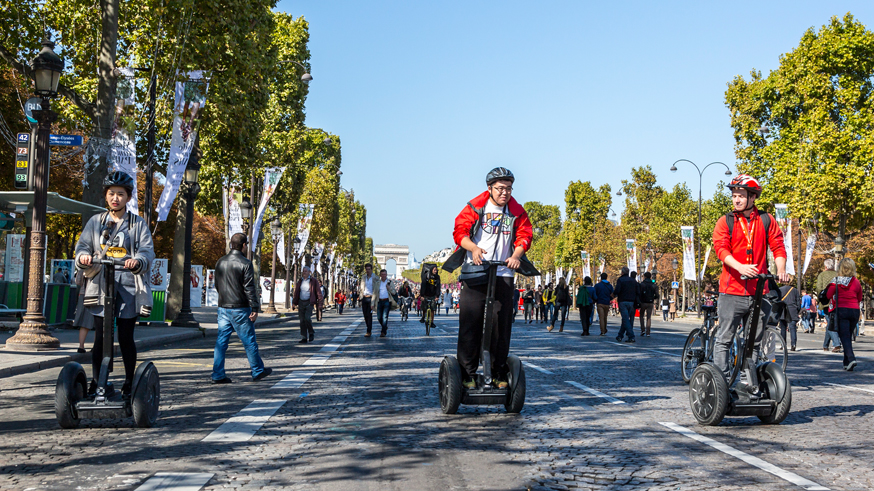 Segways - Journee Sans Voiture, Paris 2015
