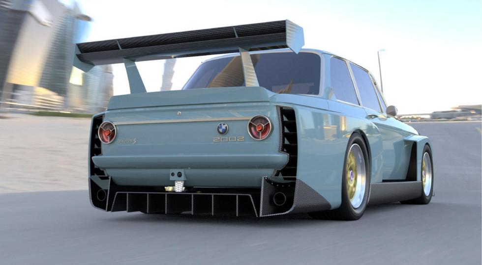 Бавария в шоке: американцы будут выпускать классический BMW 2002 с мотором V10