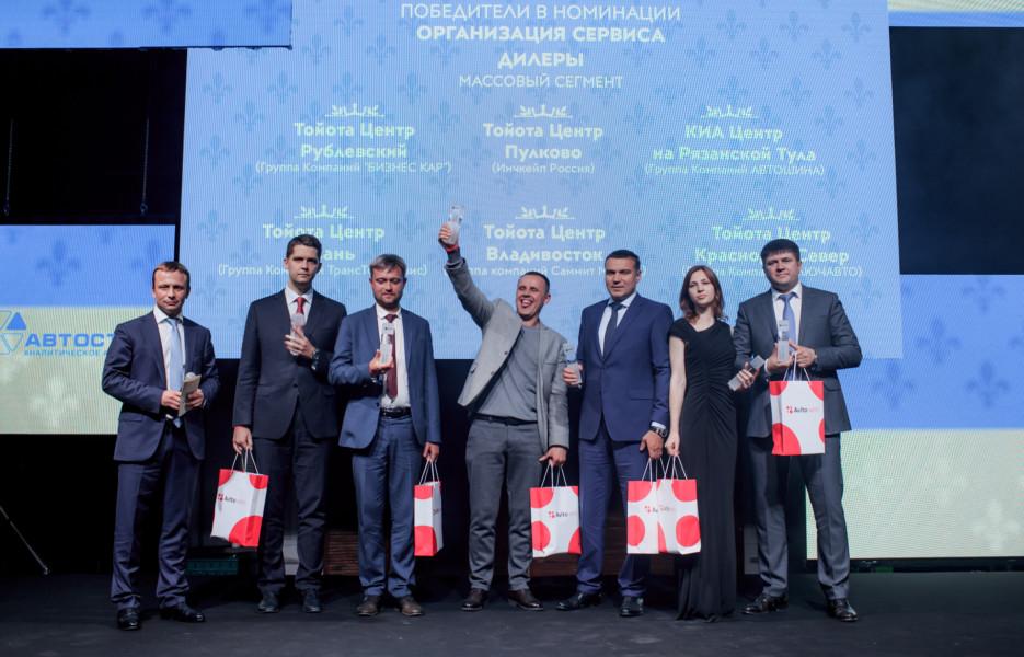В Москве пройдет юбилейная премия «Автодилер года»