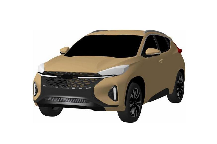 Новый паркетник Chery перенял оформление у Mitsubishi Eclipse Cross