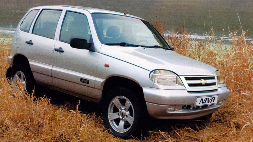 Chevrolet Niva '2002–09
