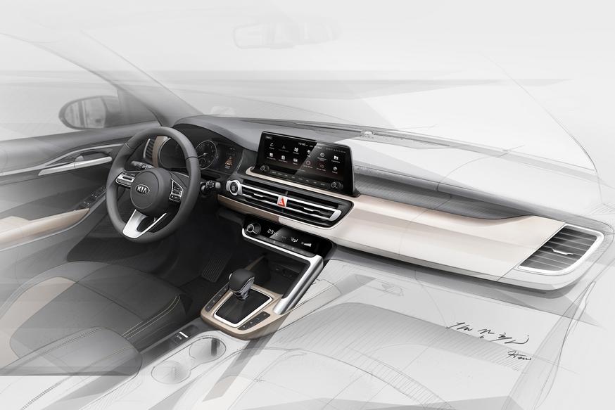 Новый кросс Kia, который доберется до РФ: два варианта интерьера (в том числе под Mercedes)
