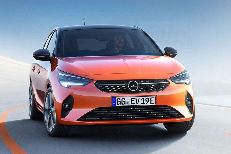 Новый Опель Corsa получил электродвигатель