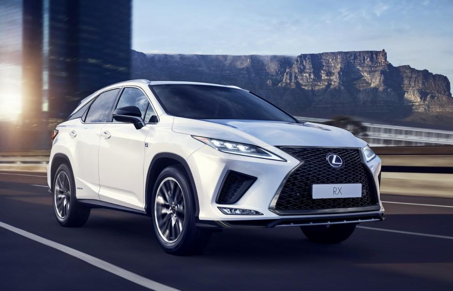 Обновлённый Lexus RX: больше клея и сварки, лучше управляемость