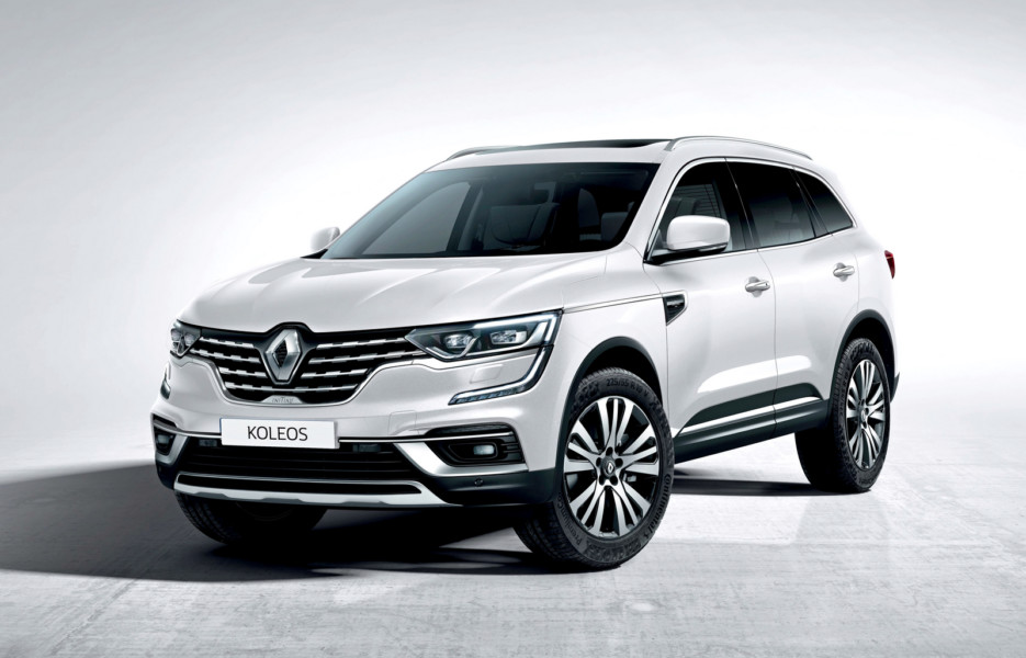 Обновлённый Renault Koleos: больше хрома и мочевины