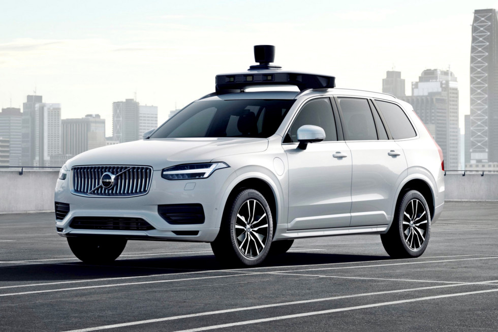 Volvo и Uber представили серийный беспилотник