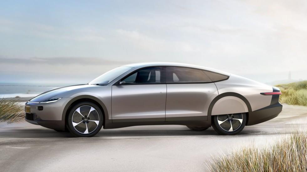 Солнечный удар: представлен самоподзаряжаемый электромобиль Lightyear One