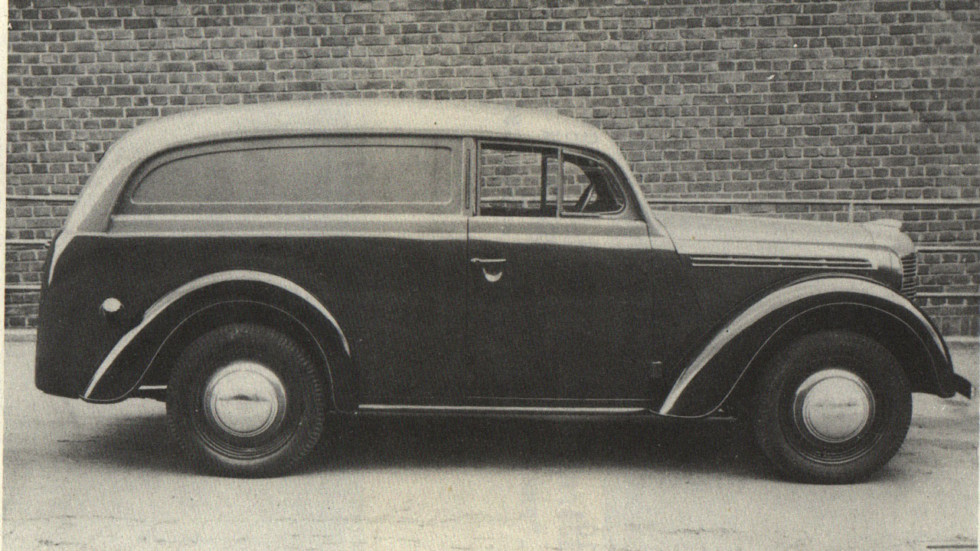 Немецкий-цельнометаллический-фургон