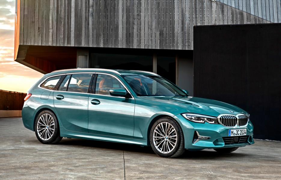 Новая BMW 3 серии: теперь и универсал
