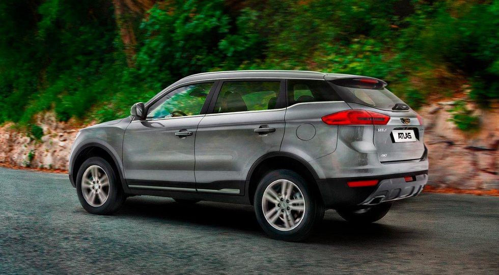 Новый Geely Atlas: больше и богаче, теперь с турбомотором Volvo. Ждём в России
