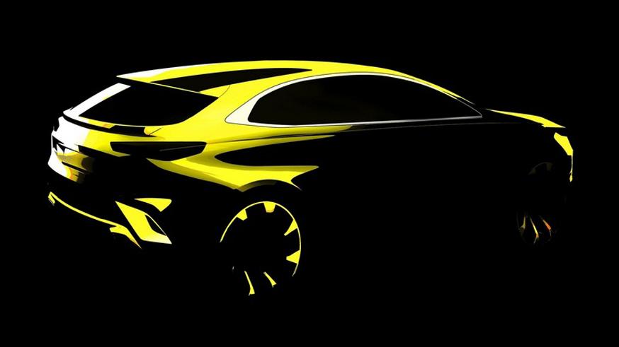 Kia официально подтвердила, что новый кроссовер получит название XCeed