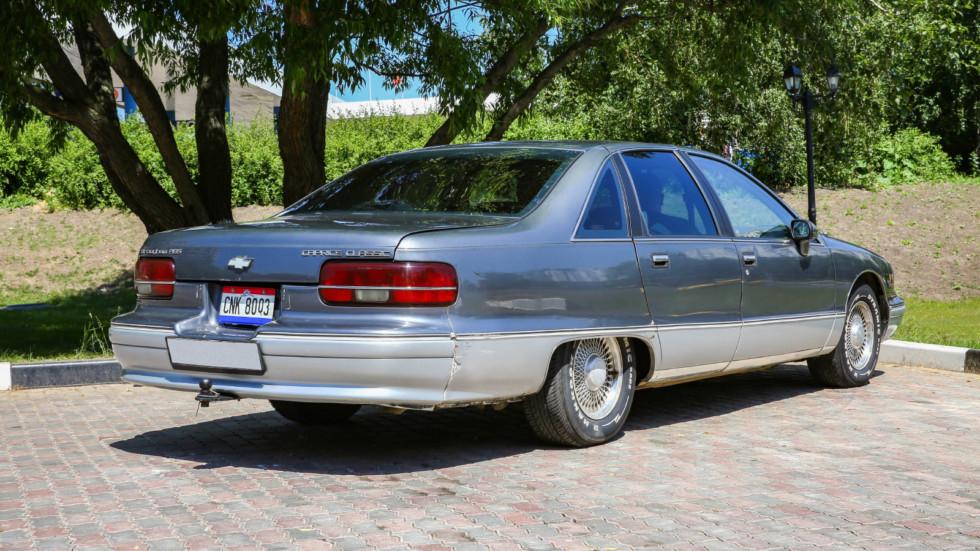 Американская мечта для бедных: опыт владения Chevrolet Caprice 1992