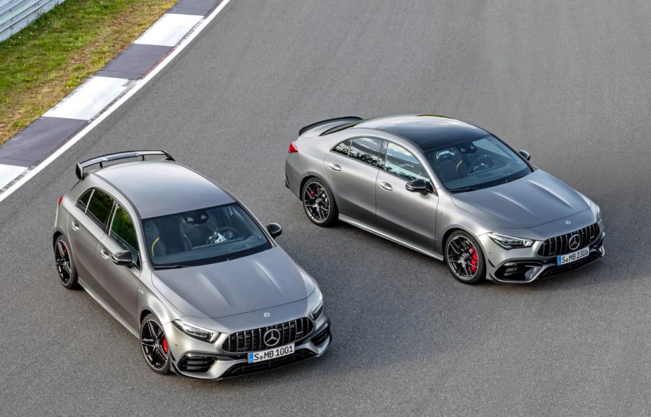 Mercedes-AMG A 45 / CLA 45: самая мощная в мире «турбочетвёрка» и дрифт-режим