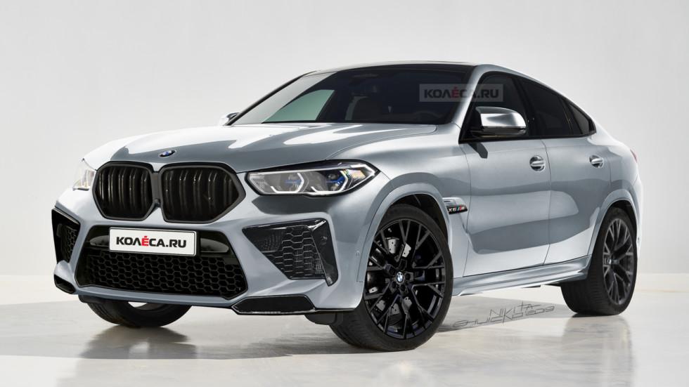 BMW X6 M front1