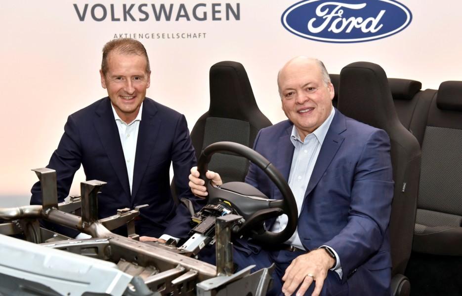 Не только коммерческие автомобили VW и Ford расширяют сотрудничество