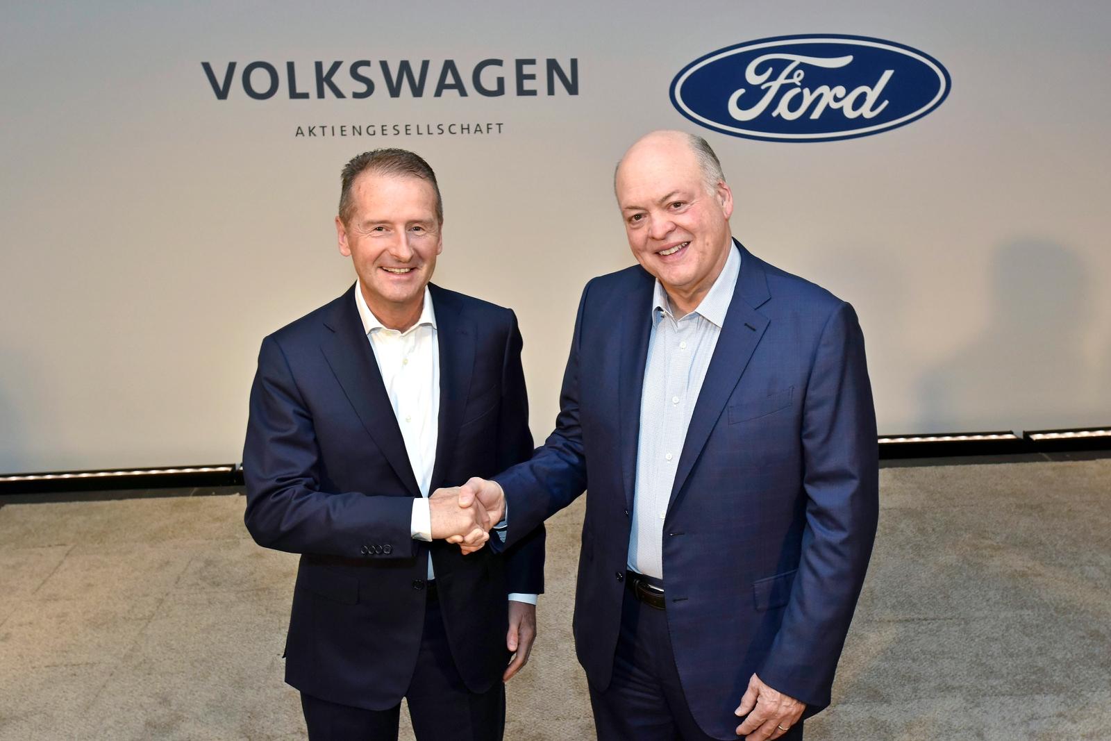 VW инвестирует $2,6 млрд в общую с Форд разработку беспилотных авто
