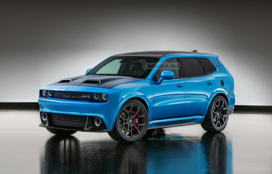 Мускул-кроссовер Dodge Challenger: каким он может быть