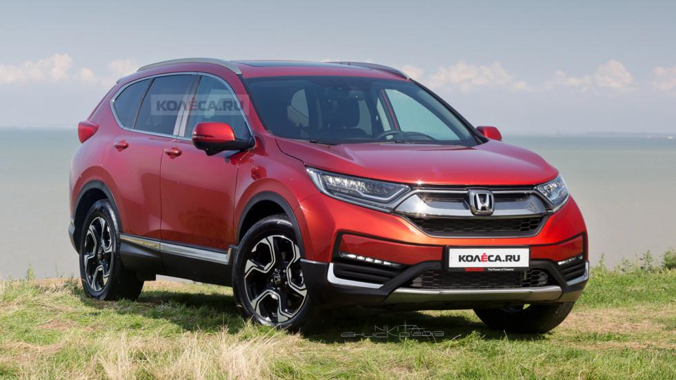 Honda CR-V front1