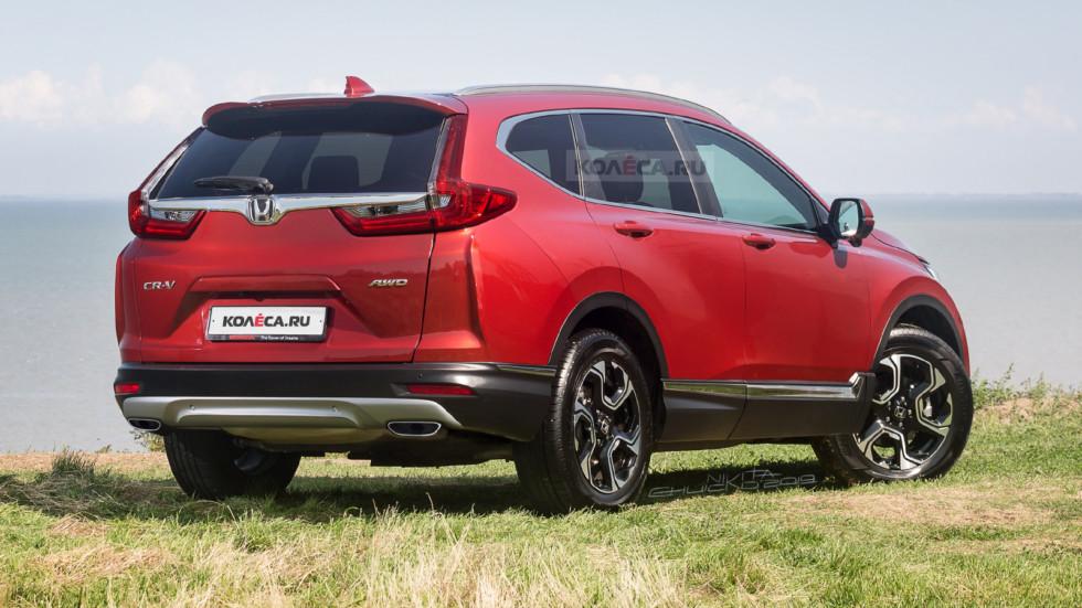 Honda CR-V rear1