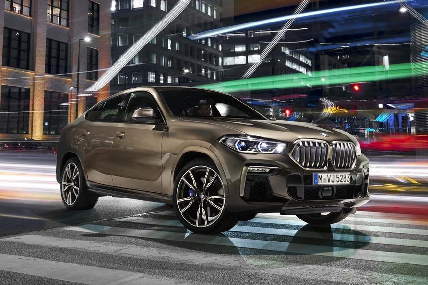 Новый BMW X6: «ноздри» теперь светятся, а топ-версия почти догнала прежнюю «эмку»