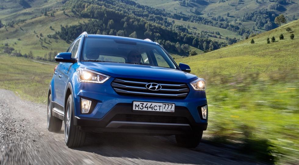 Актуальная для России Hyundai Creta