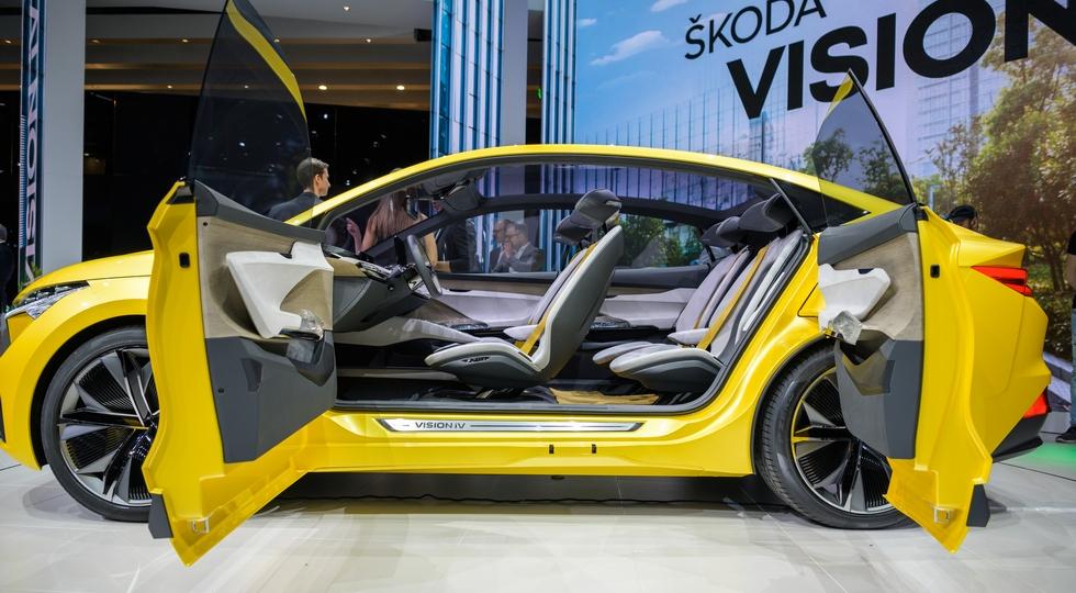 Skoda принимает заказы на несуществующий купеобразный кроссовер