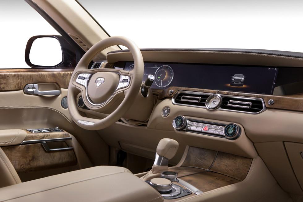 Мантуров назвал цену Ауруса и рассказал, чем он лучше Мерседеса и BMW