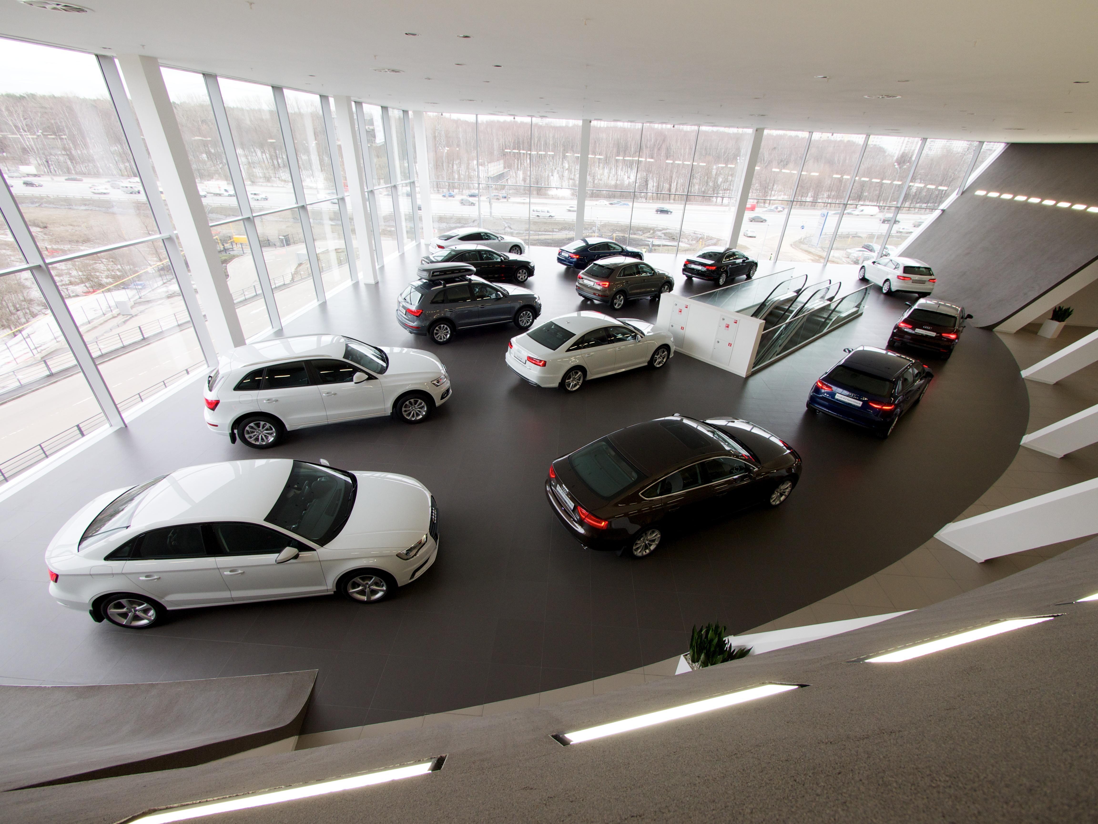 В Москве открылся крупнейший в Европе дилерский центр Audi - Колеса.ру 48e6ec4ae11