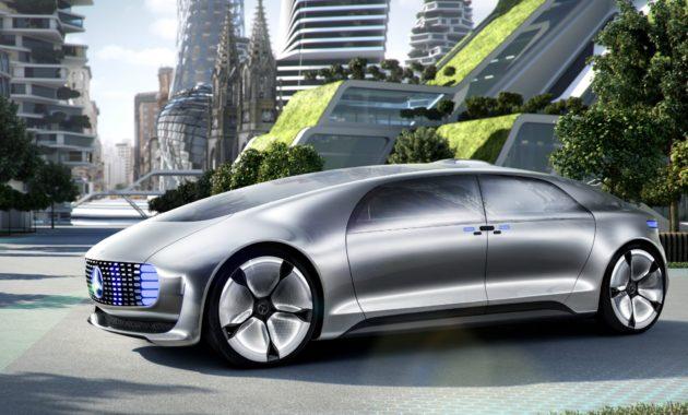 Мерседес - представил концепт автономного автомобиля F 015 Luxury in Motion