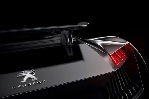 Виртуальный спорткар Peugeot
