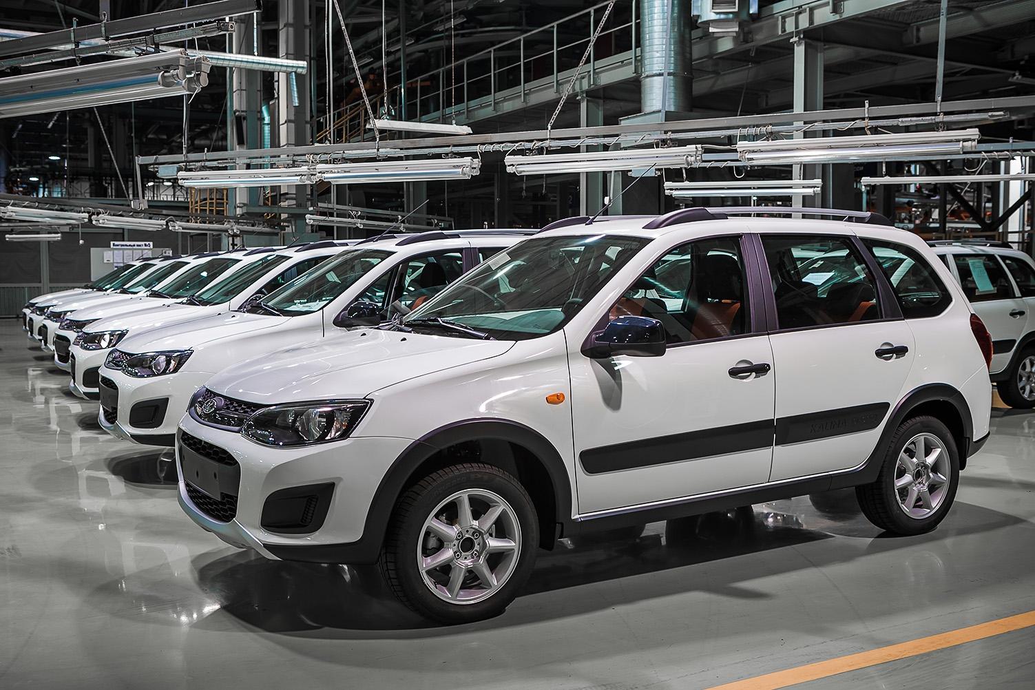 АвтоВАЗ собрал первый экземпляр Lada Kalina Cross