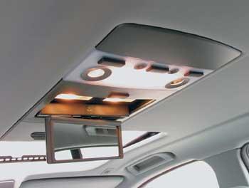 Это зеркало обслуживает любого из задних пассажиров.