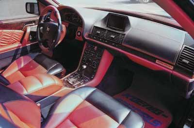 """Mercedes-Benz 600 SEC с тюнингом от """"Koenig Special"""" и """"Deep Rising"""""""