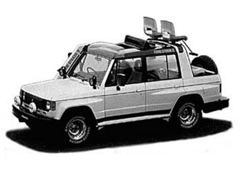 1987 PAJERO FUORI STRADA