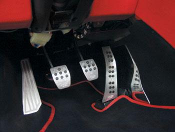 Накладки на педали Simony Racing